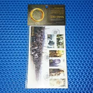 🆒 Lord of The Rings: Return of The King 2003 First Day Cover Definitive NZ Stamps