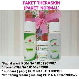 Paket cream theraskin normal bpom