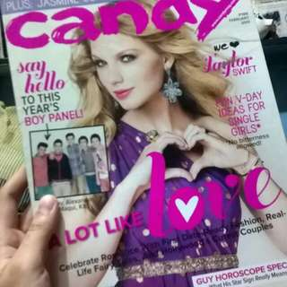 Candy Magazine Taylor Swift Back Issue
