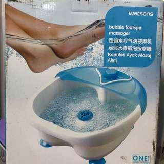 Bubble Footspa Massager