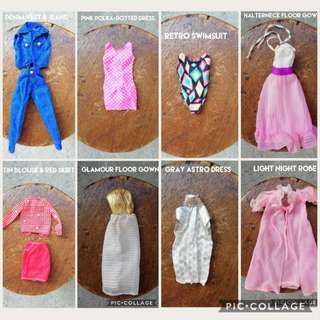 16-Pair BARBIE CLOTHING SET for take all