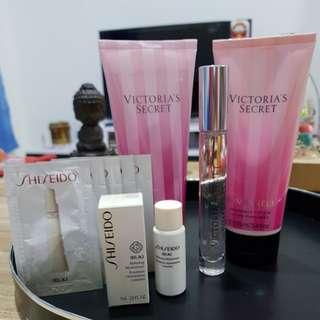 Bombshell Set (with Free gift of Shiseido product)