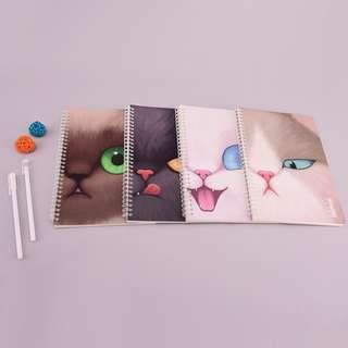 Miaomi Class Spiral Ruled Notebook B5