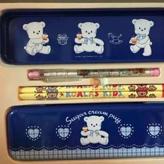 Sanrio sugar cream bear 雪熊 及其他人物 文具套裝