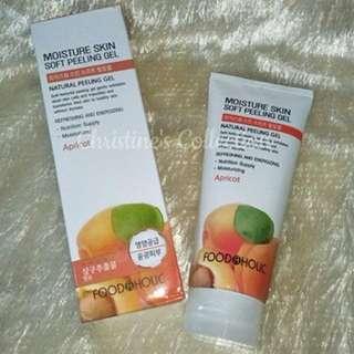 FOODAHOLIC Moisture Skin Soft Peeling Gel (Apricot 180ml) 2 slots