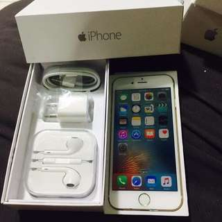 iPhone 6 128gb FACTORY UNLOCK (Complete Package)