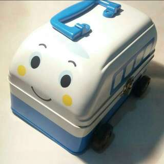 Sanrio新幹線100%正版 大容量鐵盒 SHINKANSEN