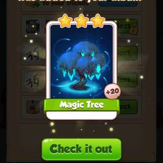 Coin Master Magic tree
