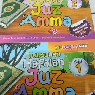 Tuntunan Hafalan  Juz Amma  Jilid 1 & 2