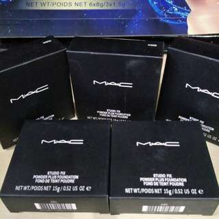 Mac Studio Fix Powder + Foundation - Ready Stock for 5 Set Left
