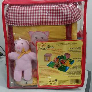 🚚 Soft toy educational Three Little Pig #GSS
