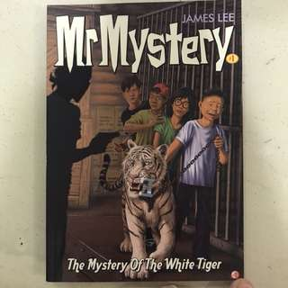 Mr Mystery #1 - The Mystery of the white tiger