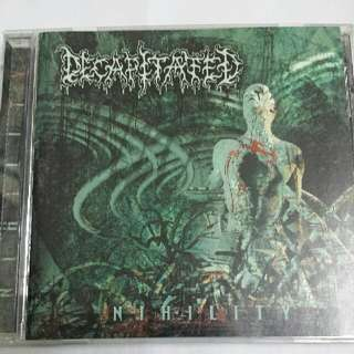 Music CD (Metal): Decapitated ‎– Nihility