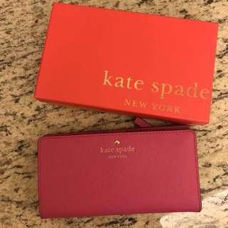Kate spade ♠️ pink wallet