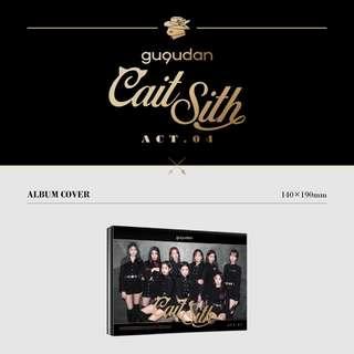 GUGUDAN 2ND SINGLE ALBUM - CAIT SITH