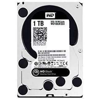 WD Black Hard drive  1TB