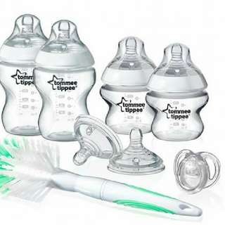 TOMMEE TIPPEE CLEAR STARTER SET