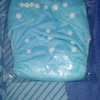 2 pcs.Washable cloth diaper with free insert
