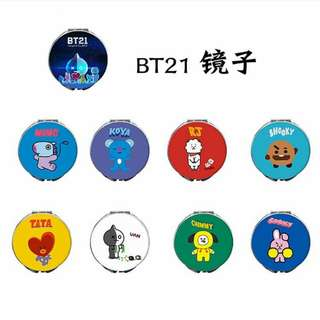 BTS BT21 Mirror