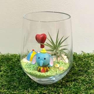 Happy Valentine's Day! Disney Dumbo the Circus Elephant Air Plant