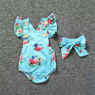 BABY GIRL ROMPERS 0-18 MONTH 📢