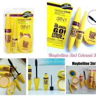 maybeline 3 in 1 set