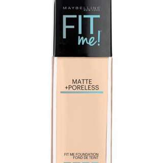 Maybelline FIT me foundation (shade 130 &128)