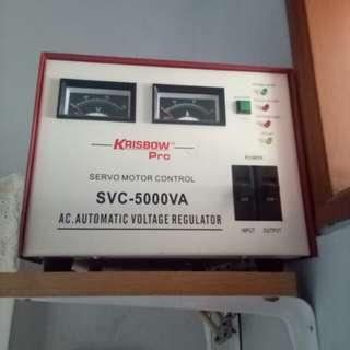 Krisbow Stabilizer 5000VA