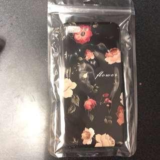I phone 7 plus 玫瑰花手機套