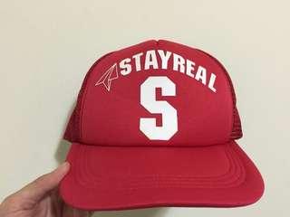 STAYREAL帽子