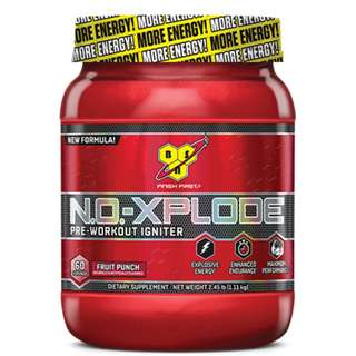 BSN N.O. XPLODE PRE-WORKOUT 60 SERVINGS - COD FREE SHIPPING