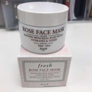 Fresh Rose Face Mask 🆕
