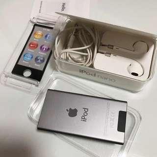 iPod nano space grey 16GB 7th generation