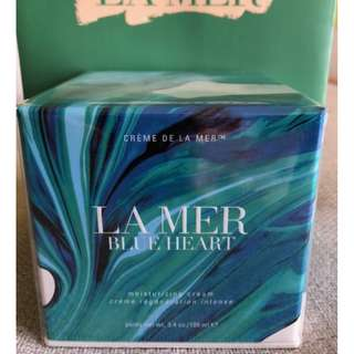 Creme De La Mer Blue Heart Moisturizing Cream Limited Edition 100ml