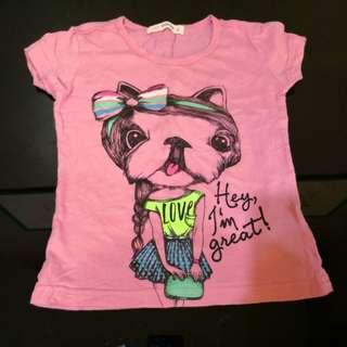 Pinky Girl's Shirt