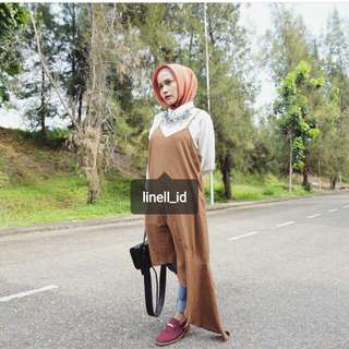 Dress outer brown
