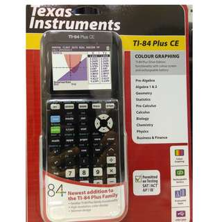 BN latest model Graphing Calculator -TI-84 Plus CE