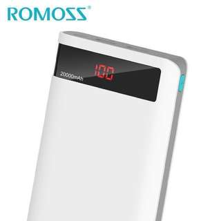 ORIGINAL Romoss Sense 6P 20,000mAh Powerbank with LED Display