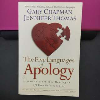 Five Languages of Apology (Gary Chapman)