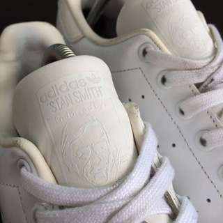 adidas stan smith full white