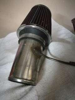 Open pot air filter