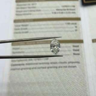 馬眼🎆 欖尖🎆 Marquise 🎆卡裝鑽石🉐️✔ 💎GIA 1ct H I1 Marquise馬眼 $15700👈出售 🌸Diamond ICQ 鑽石專賣店 🌸