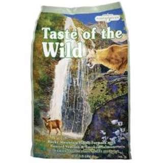 Taste of the Wild - Rocky Mountain with Roasted Venison & Smoked Salmon (7kg)