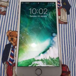 IPHONE 6s PLUS good as new SMARTLOCK