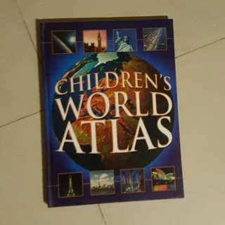 Children's World Atlas #SpringClean60