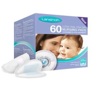 Lansinoh Disposable Nursing Pads (60pcs)