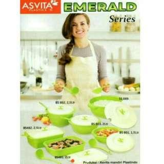 Asvita emerald set 6 pcs