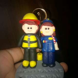 Personalized Souvenirs made of clay