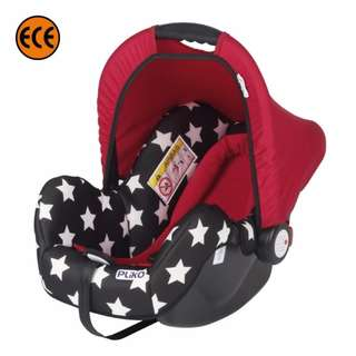 Sweet Cherry LB323-S Star Muji Carseat (Red)