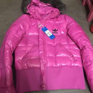 100% new authentic adidas winter jacket 羽絨